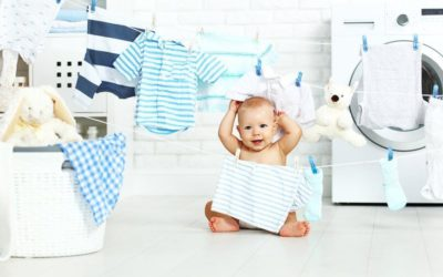 5 Hal yang Harus Diperhatikan Saat Mencuci Baju Bayi